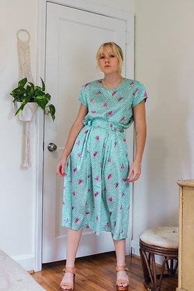 Small watermelon sugar skirt set