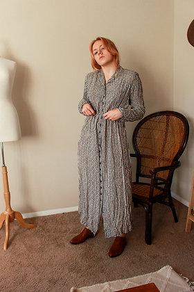 M/L pattern dress
