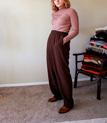 XL brown trouser