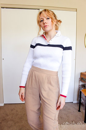 Small Tommy Hilfiger snap top