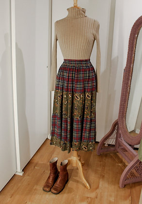 S/M mixed prairie skirt