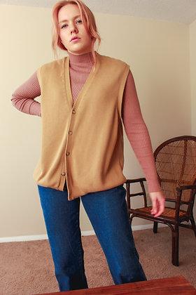 Large sweater vest