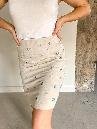 Small beaded bud skirt