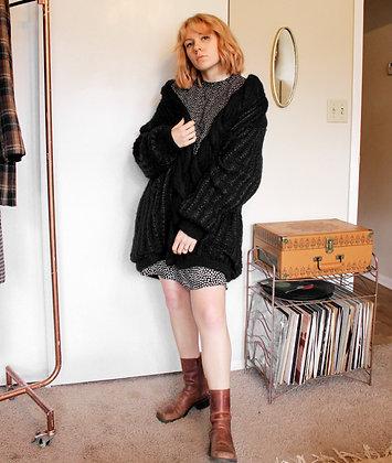 XXL mohair sweater coat