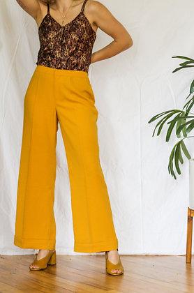 Medium yellow retro pants
