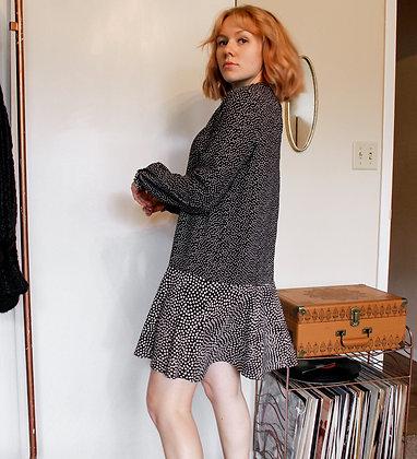 S/M polka dot dress