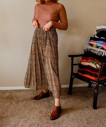 Medium Cheetah Pleat-ah Skirt
