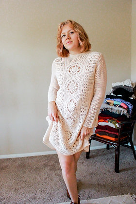 S/M Crochet dress