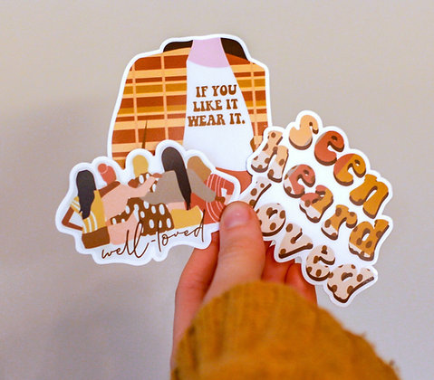3-Pack of Stickers