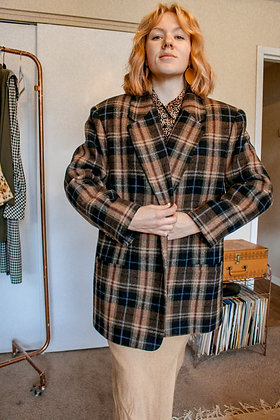 XL/XXL plaid dream blazer