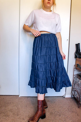 S/M tiered skirt