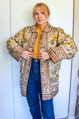 Large quilt coat
