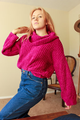 S-L Berry Cozy Sweater