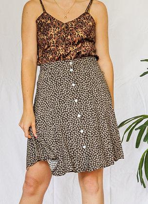 S/M ditsy mini skirt