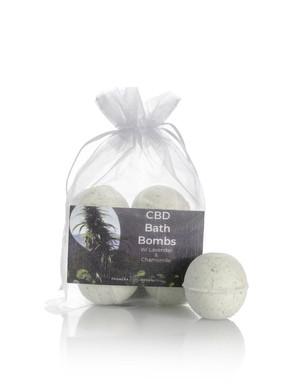 Self-Care with CBD Bath Bombs and Creams
