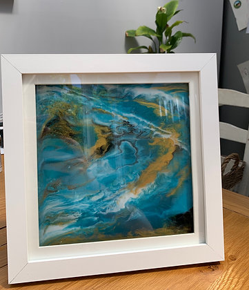 Bespoke Resin Pour Art