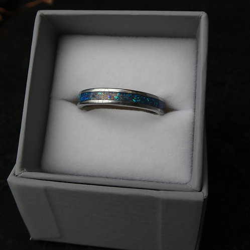 Stainless Steel Inlay Ring