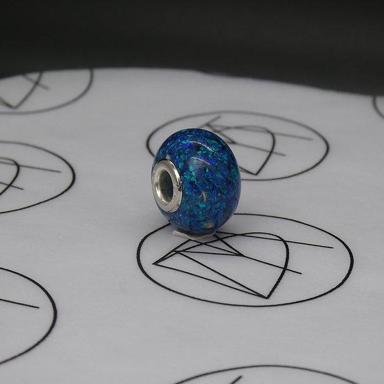 Opal Memorial Bead