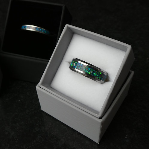 Tungsten Carbide Inlay Ring
