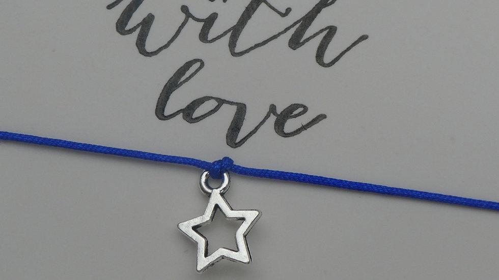 Star Bracelet (Square Macrame Knot)