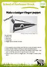 1.5 ART Make a badger finger puppet.jpg
