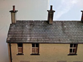 Whitesands Quay - Row of cottages - chimney pots