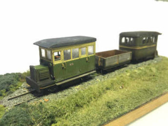 A scratch-built rail-bus for the Ding Dong Moor Railway