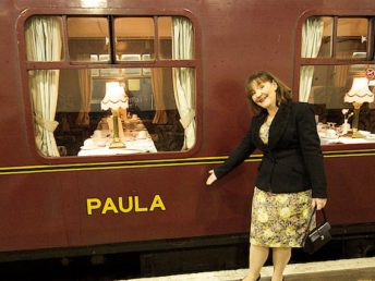 Swanage Belle by Simon Cox - Sat, October 15, 2011: Euston Paula with Paula