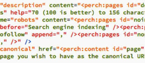 How I add canonicals into Perch CMS sites