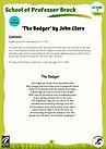 KS3 The Badger by John Clare BT version.