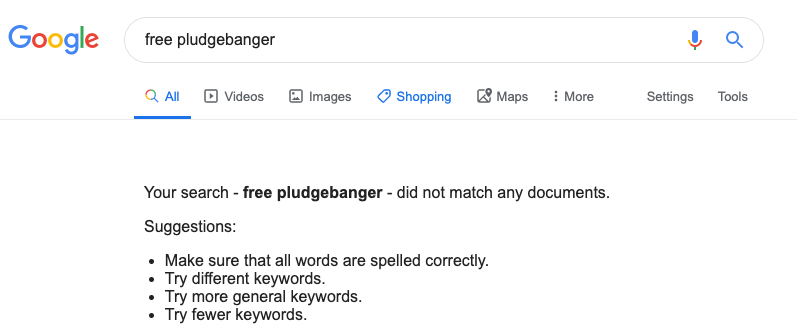 search for free pludgebangers