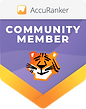Accuranker Community member badge