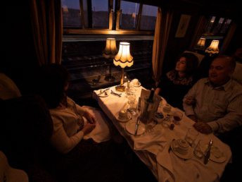 After dinner by Simon Cox - Sat, October 15, 2011: On the swanage Belle Having gone through four courses it was time to relax