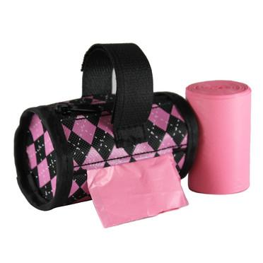 32808_Pink/Black Argyle
