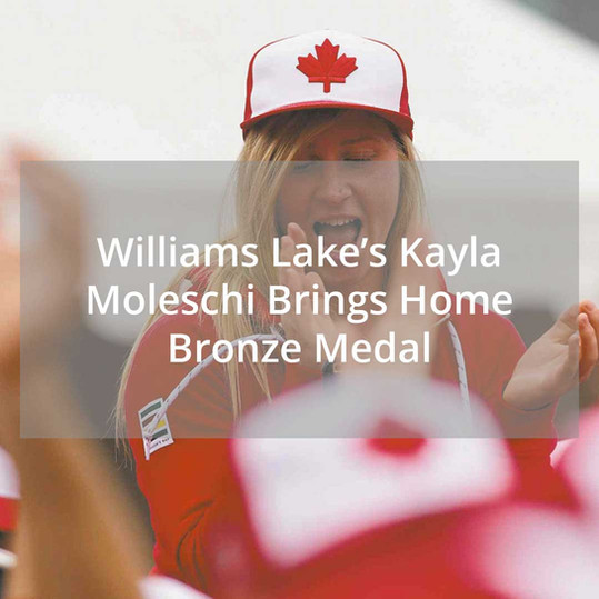 Kayla Moleschi Brings Home Bronze Medal