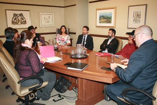 Discussing the BC Wildfires and Fisheries Issues