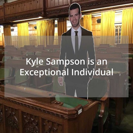 Kyle Sampson, an Exceptional Individual