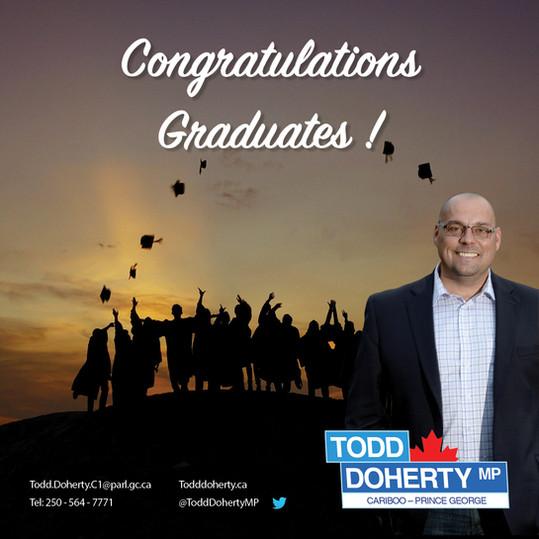 Congratulations Graduates of 2019