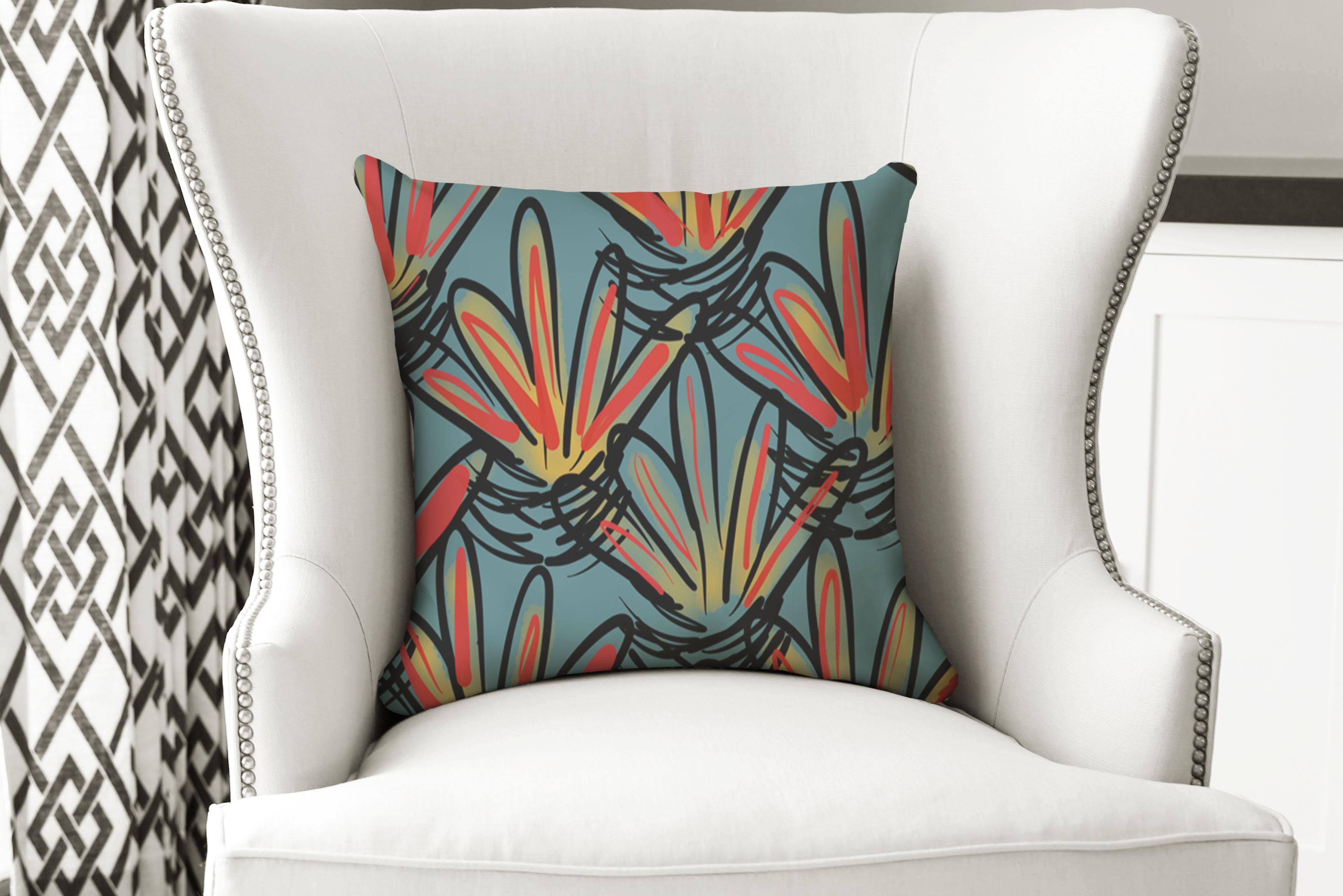 single pillow tribal crown large