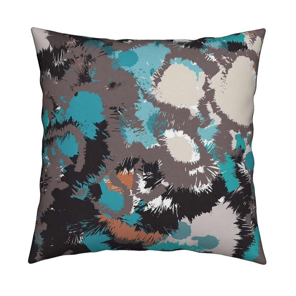 """Color Concrete"" Pillows and Accessories available at Roostery.com/mlw_marylouwatsondesign in July 2017"