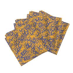 Vintage Purple Napkins
