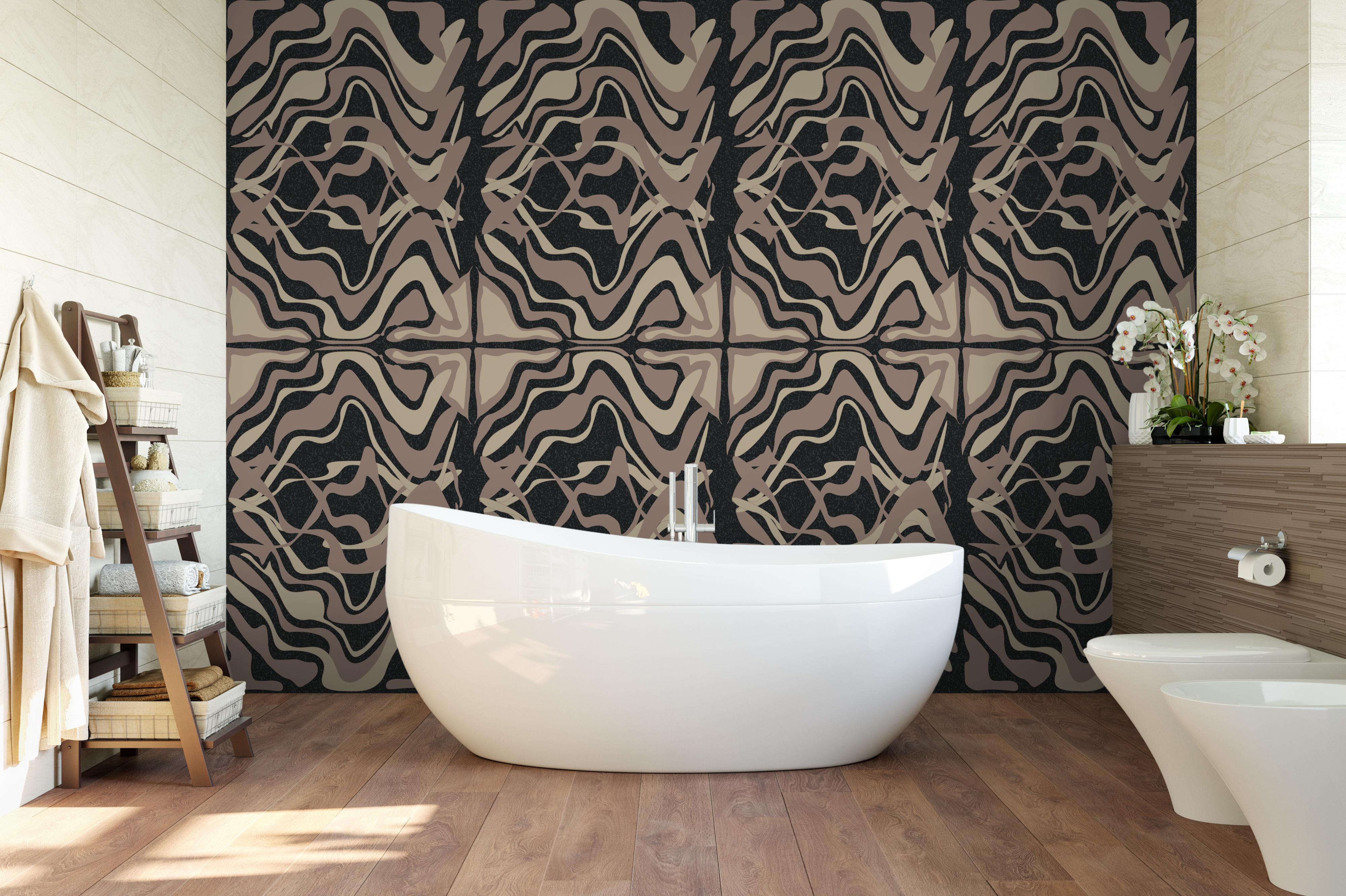 Retro Swirl Mary Lou Watson Design
