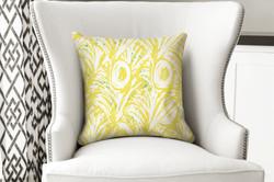 single pillow hawaiian yellow