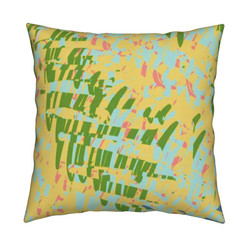 Yellow Walls Pillow