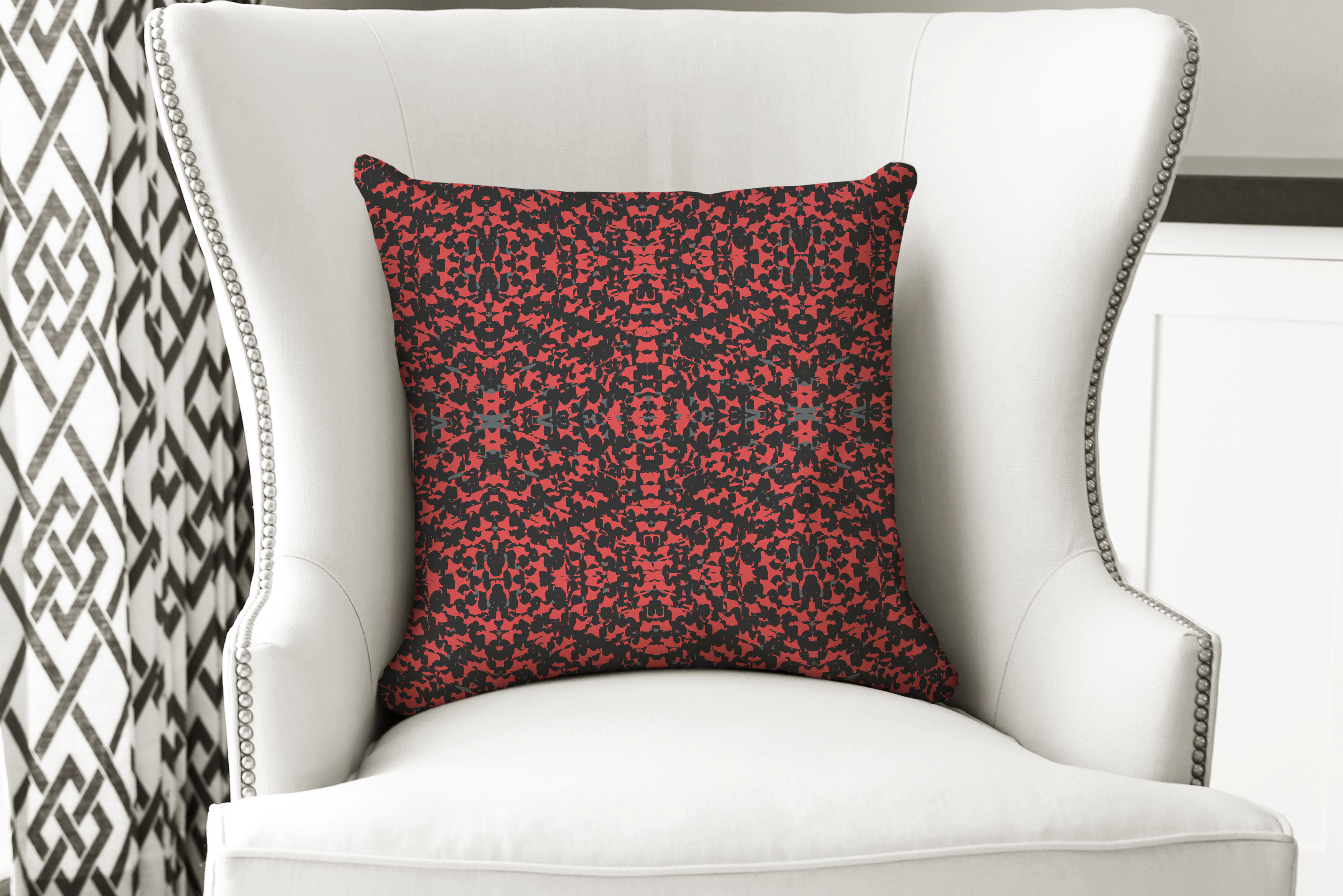 single pillow Red majestic