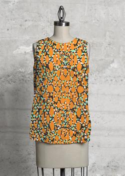 orange sleeveless