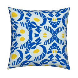 Yellow Blue Pillow