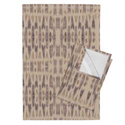 Hearts tea towels