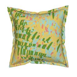 Yellow Walls Flange Pillow