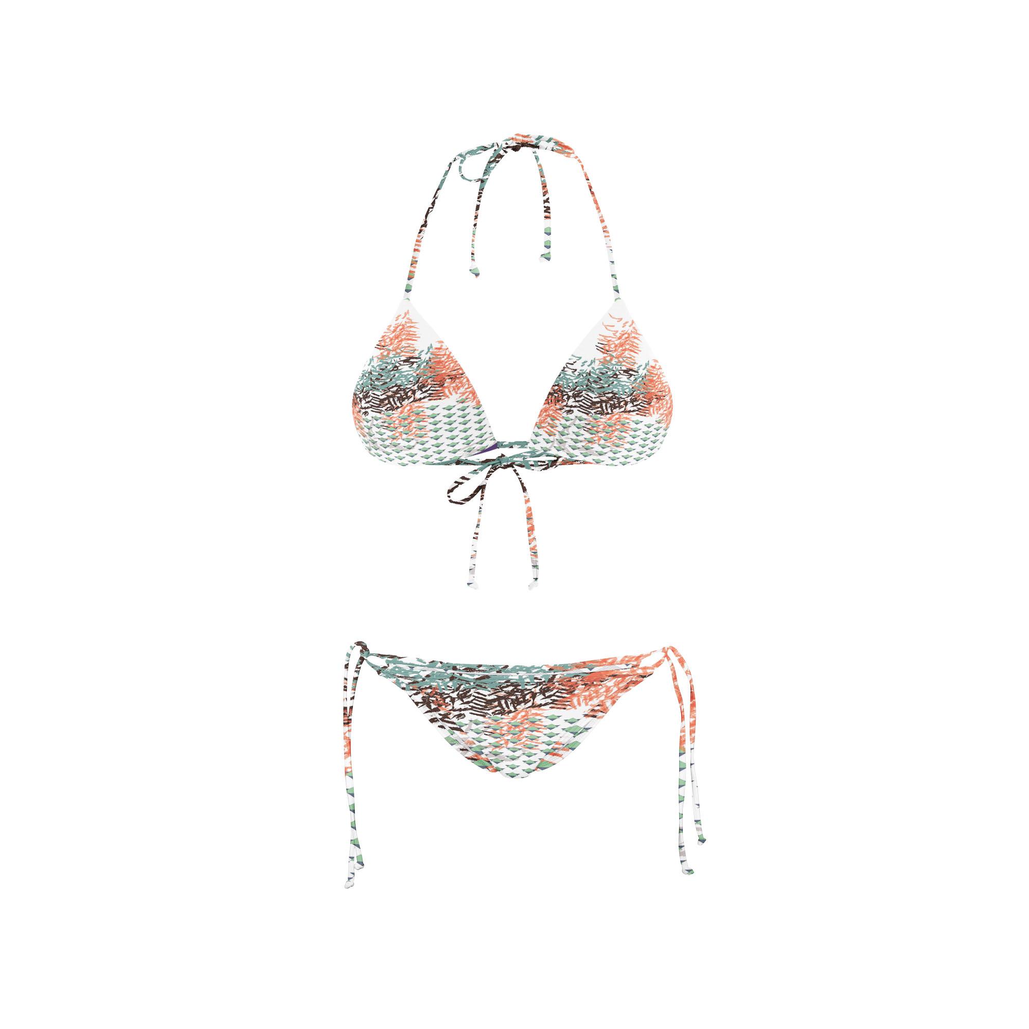 Bikini Front swim triangle 2